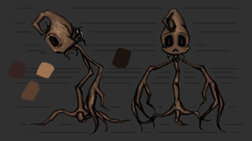 Cotton Plant Character Design